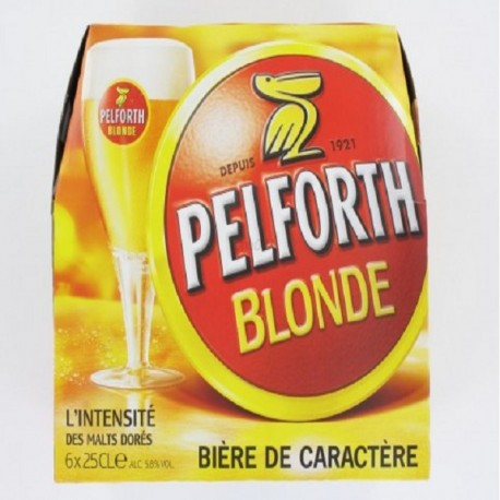 PELFORTH BLONDE 6X25CL